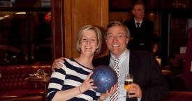 Au bowling avec Vincent De Wolf